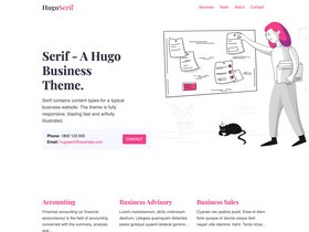 Hugo Serif screenshot